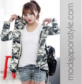 Japon Style Military Ceket Mont