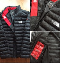 Japon Style The North Face Şişme Mont
