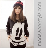 Japon Style Mickey Mouse Sweatshirt