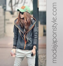 Bayan Sweatshirt Japon Style Sweat