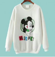 Japon Style, Mickey Mouse Sweatshirt